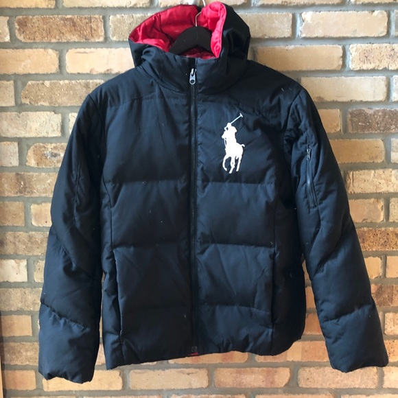 1c8643d0f Polo Ralph Lauren boys quilted down jacket. M 5bee383634a4ef3ac2cc8421